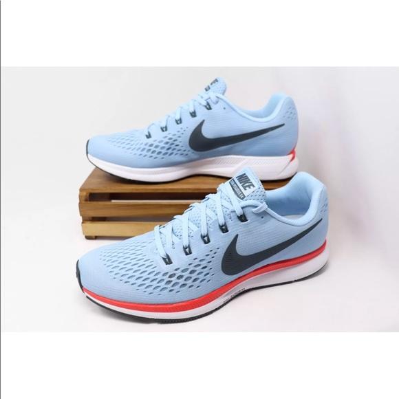 quite nice db2ce 382a7 Nike Air Zoom Pegasus 34 Blue Men Running Shoes